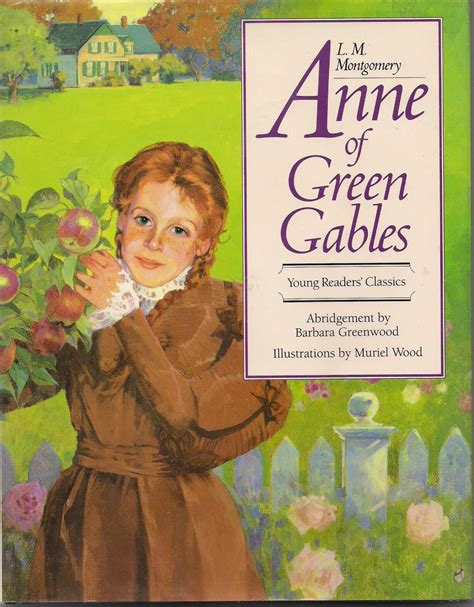 green gables picture book of green gables abridged for children by