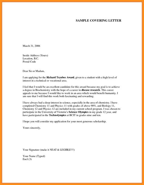 how to cover letters 7 write application letter for agenda exle