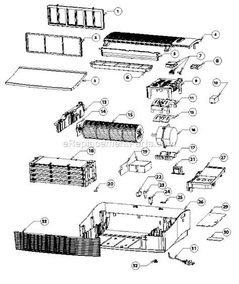 oreck airps parts list  diagram ereplacementpartscom