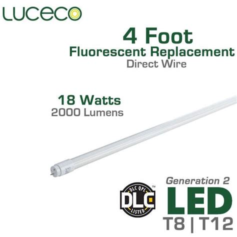 4 l t8 ballast wattage led t8 t12 fluorescent replacement tube ballast bypass