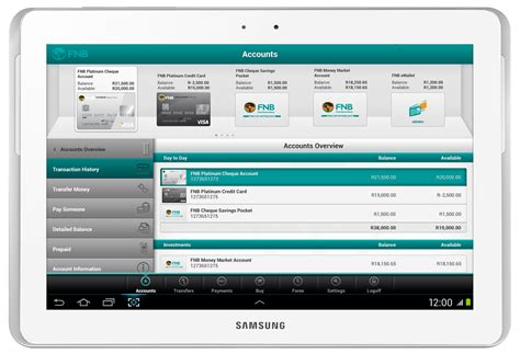 bank of america app for android tablets fnb launches next generation banking app for tablets digital
