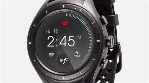 New Balance Runiq Android Wear 2 0 Smartwatch run to the beat best running watches and smartwatches