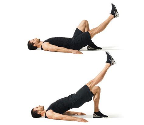 bench glute bridge the best swiss ball butt workout