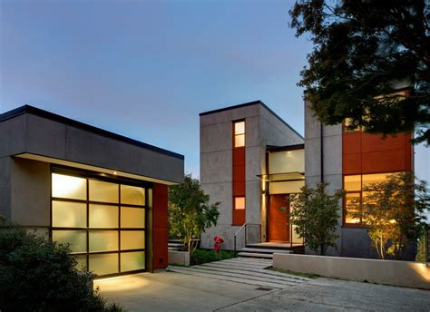Seattle Garage Finishing Ideas Exterior Contemporary With
