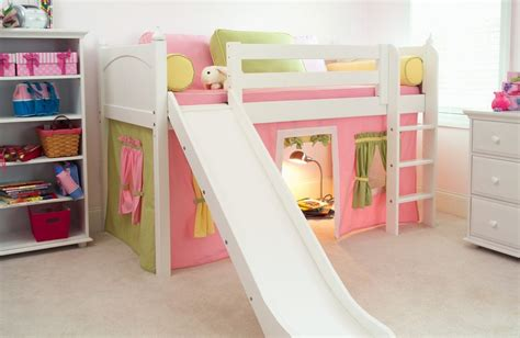 kids loft bed with slide loft style beds for kids with slide attractive loft