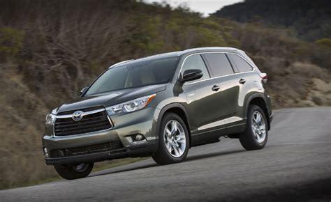 2014 Toyota Highlander Review 2014 Toyota Highlander Hybrid Review Car Reviews