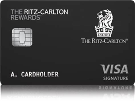 Ritz Carlton Gift Card Balance - the ritz carlton rewards 174 credit card