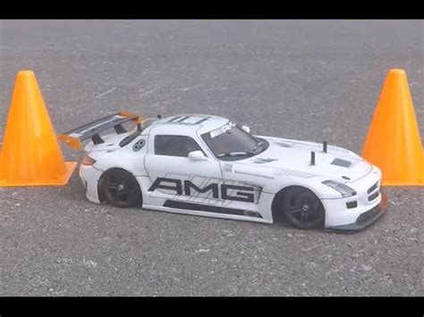 drifting/mercedez benz sls amg gt3/tamiya tt 02 youtube
