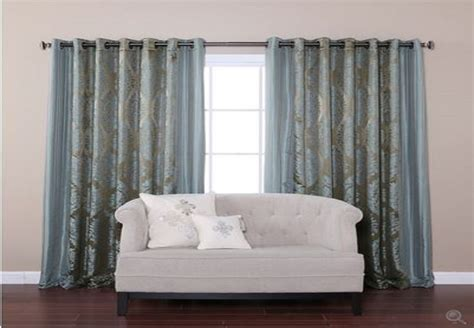 Width Of Curtains For Windows New Wide Width Windows Curtains Treatment Patio Door Grommet Drapes Home Decor Curtains