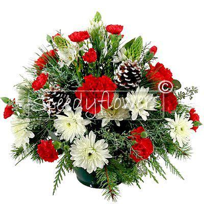 fiori di natale invio fiori natale