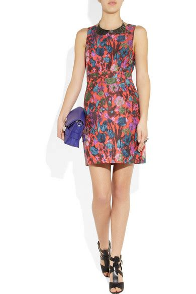 Friday Afternoon Dresses From Net A Porter by J Crew Floral Print Jacquard Dress Net A Porter