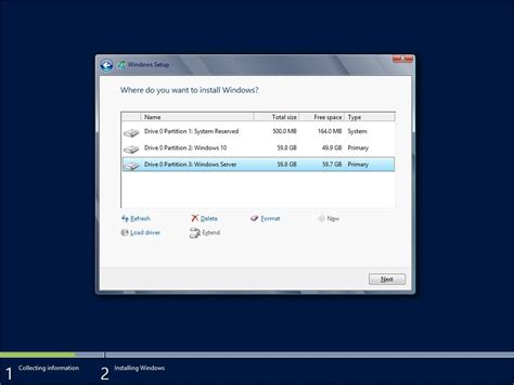 install windows 10 in bootc how to dual boot windows 10 and windows server