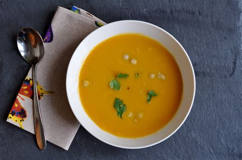 sweet potato and chickpea soup the copper kettle
