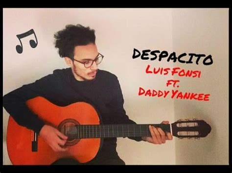 despacito cover guitar despacito luis fonsi cover by gianmarco civello guitar