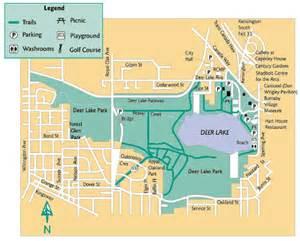 deer lake park map