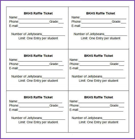 numbered event ticket template free 28 numbered ticket template free raffle ticket