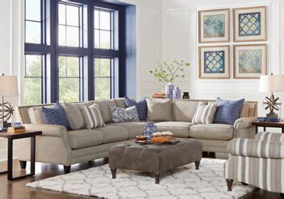 rooms to go white sofa piedmont gray 3 pc sectional living room living room