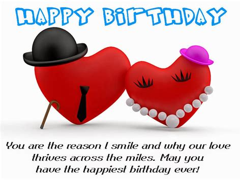 Wishing Happy Birthday Birthday Wishes For Boyfriend Romantic Lovely Message