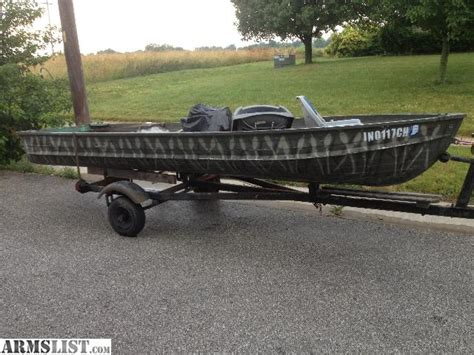 used jon boats for sale in indiana armslist for sale trade john boat