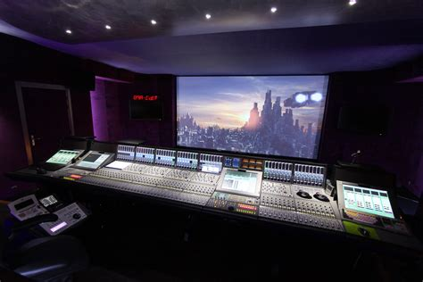 stud io creative sound adds europe s largest audio console to new