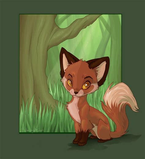 Anime Fox by Fox Images Anime Foxs Hd Wallpaper And Background Photos