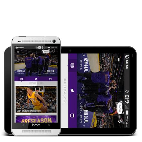 nba mobile app android mobile app los angeles lakers