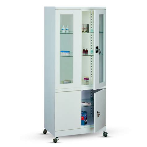 Armoire medicale sur roulettes   Armoires Mdicales   Axess