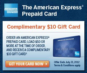 American Express Gift Card Monthly Fee - free 10 prepaid american express card the daily goodie bag