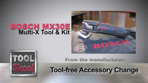 Multi Max 33 R bosch mx30ek 33 multi x oscillating tool tool skool