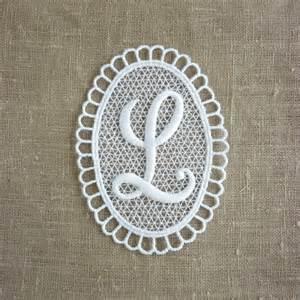 vintage l vintage embroidered letter l