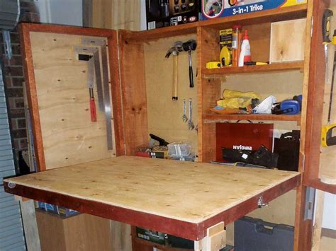 diy fold garage workbench do it yourself diy fold up workbench australian