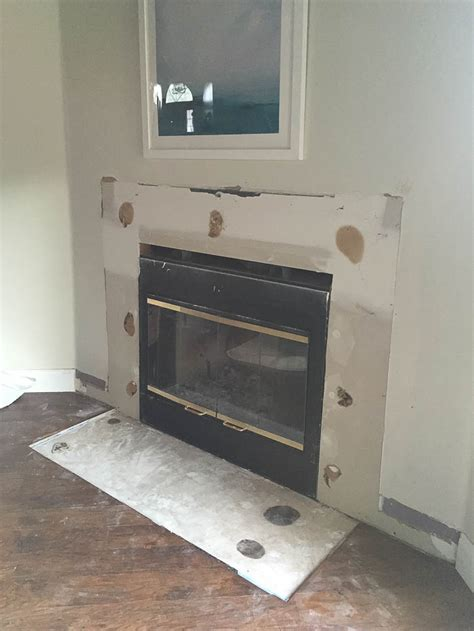 fireplace diy makeover fireplace makeover drab to fab complete fireplace makeover
