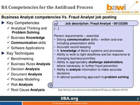 Fraud Analyst by Bawi2013 Intervento Besana Pantarotto