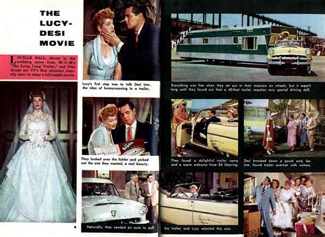lucy film now tv 1000 images about lucy desi in the long long trailer