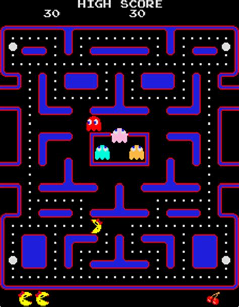 pacman screen the gallery for gt pacman arcade screen