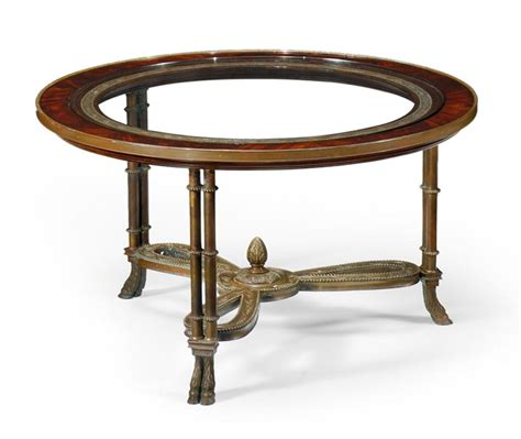 High End Coffee Table High End Furniture Mahogany Coffee Table With Brass Base