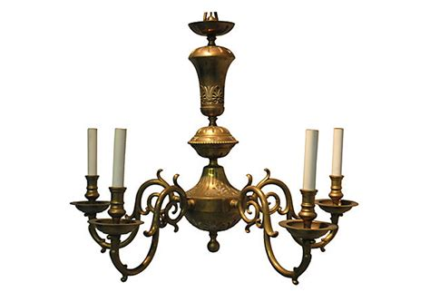 Vintage Brass Chandelier Omero Home Chandelier Antique Brass