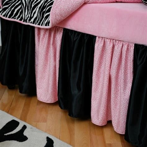 Zebra Crib Skirt by Black And White Zebra Crib Skirt Baby Bedding Atlanta
