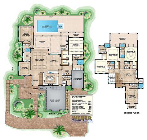covill cabana coastal home plans beach house plan 2 story coastal home floor plan with cabana