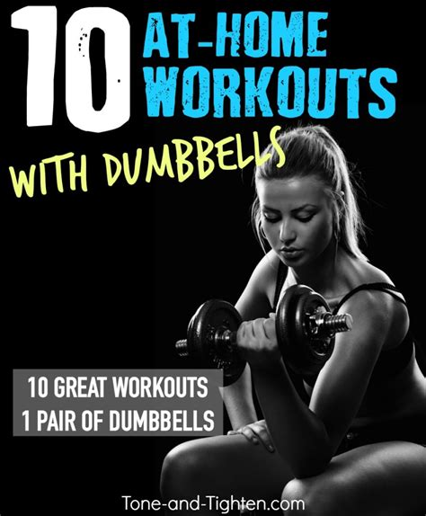 10 of the best dumbbell workouts tone and tighten