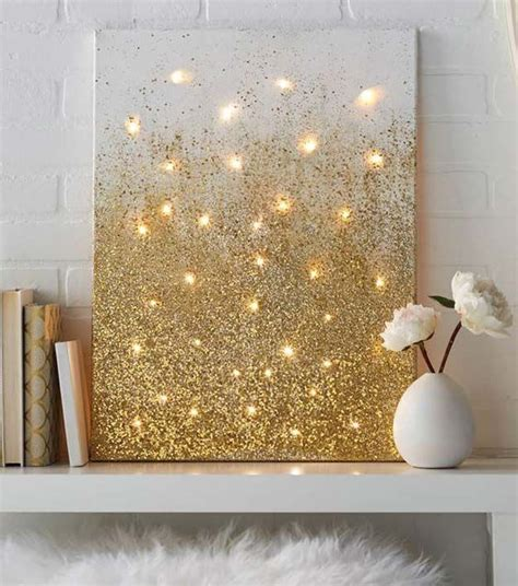 diy paintings for home decor 40 brilliantly gold diy projects teen apartment gold