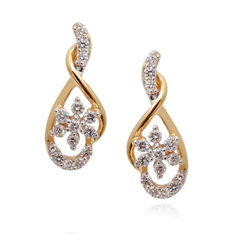 earrings forever floral earring grt jewellers