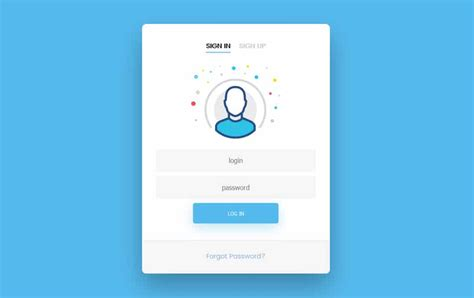 layout login css 50 free html5 and css3 login forms 187 css author