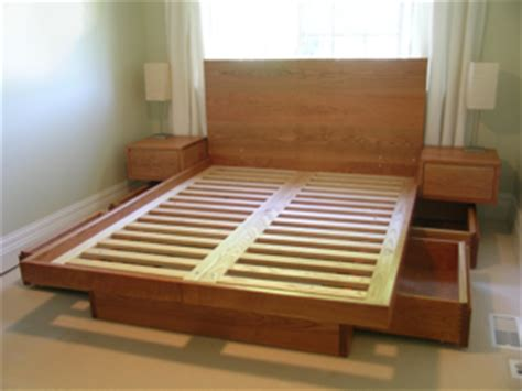Cribs Without Slats by Custom Platform Bed With Drawers