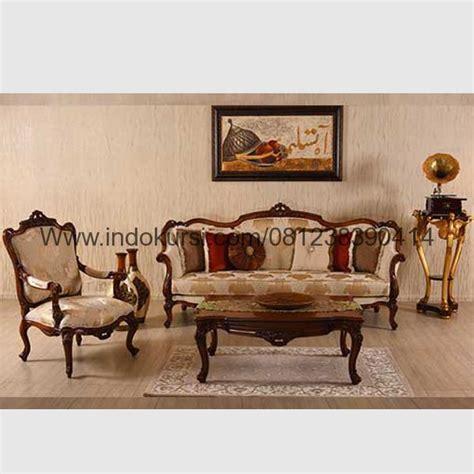 Sofa Bed Kayu harga sofa ruang tamu kayu jati indo kursi mebel indo