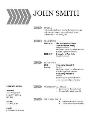 resume resume templates and free printable on
