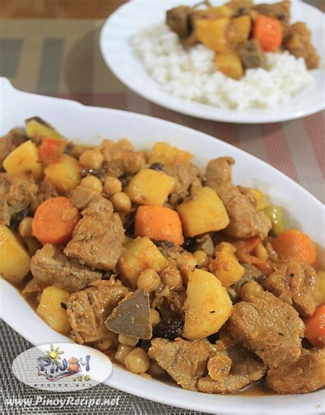 printable pinoy recipes pork menudo recipe filipino recipes portal