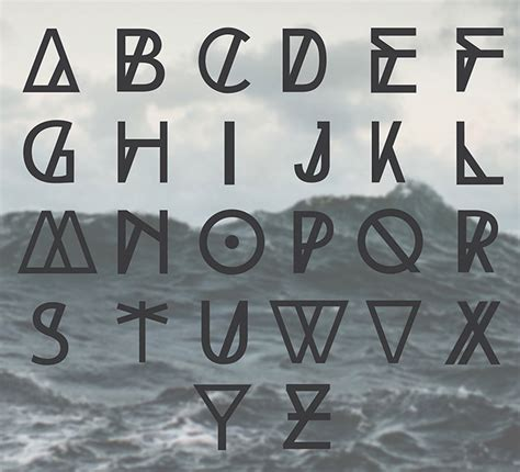 design font word 25 free tribal geometric display fonts for your hipster