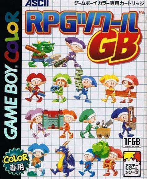 gb color emulator rpg tsukuru gb gameboy color gbc rom