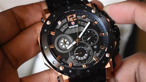 Expedition 6402 Original expedition timepiece e 6402 m black rosegold original